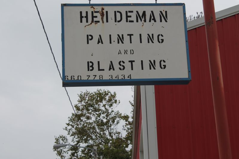 Heideman Painting and Blasting located at 106 S. 3rd Street